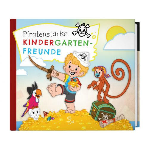 Piratenstarke Kindergarten-Freunde