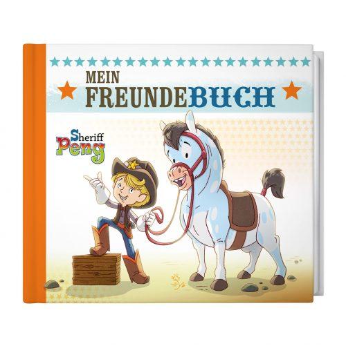 Sheriff Peng – Mein Freundebuch 2. Auflage